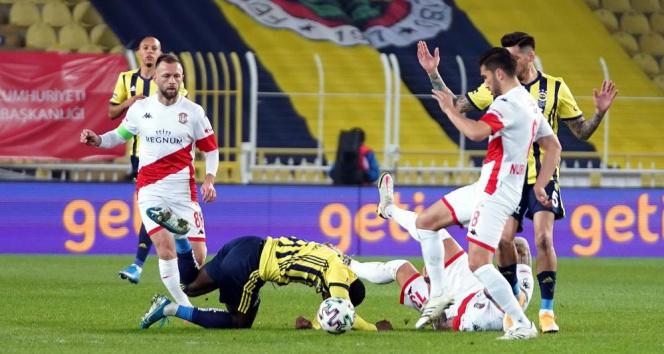 Antalyaspor ligde 1-1 ilerliyor!